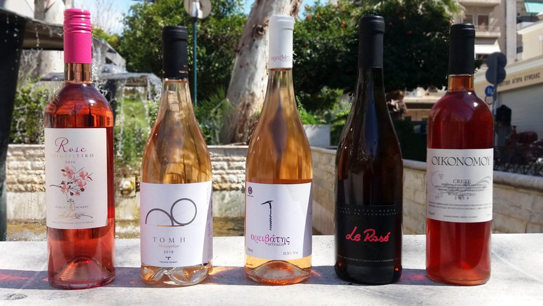Υπάρχουν δεκάδες επιλογές για ροζέ κρασί από τον ελληνικό αμπελώνα αλλά με πολύ κόπο ξεχώρισα πέντε προτάσεις που θα καλύψουν και τον πιο απαιτητικό.