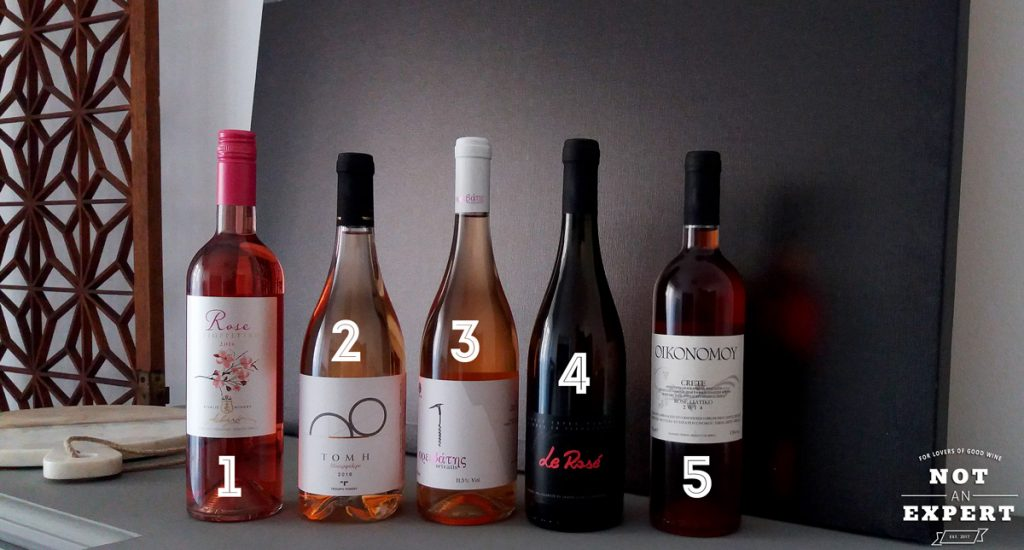 5 επιλεγμένα ροζέ κρασιά
